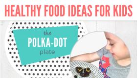 Polka Dot Plate Ad